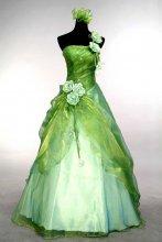 Dámské plesové šaty jemné