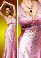 Dámské společenské šaty saténové