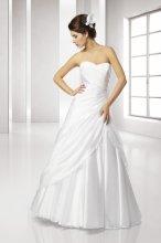 SLL432 Krásné svatební šaty k zapůjčení vel L - XL