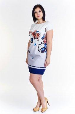 0056 Pěkné šaty s květy Stella Vera