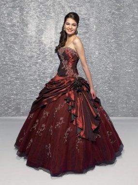 Dámské plesové šaty korzetové