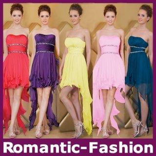 Dámské krátkodlouhé šaty ROMANTIC DRESS