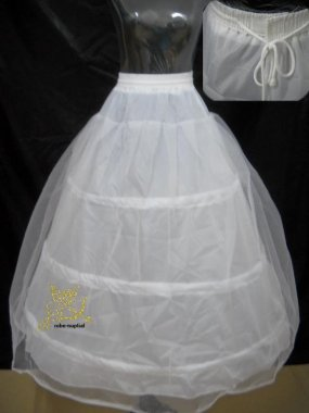 Dvojvrstvá spodnice pod svatební šaty